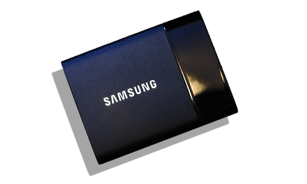 Samsung Portable SSD T1 Front Angle
