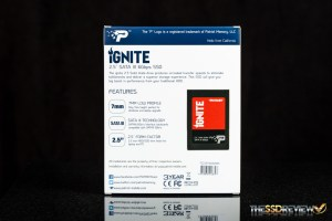 Patriot Ignite 480GB Box Back