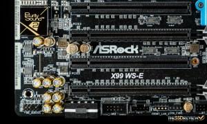 ASRock X99 WS-E Bottom Left IO