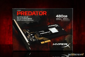 Kingston HyperX Predator 480GB Packaging Front