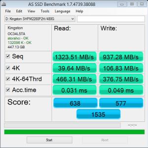 Kingston HyperX Predator AS SSD