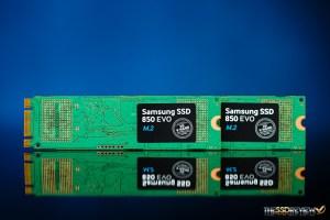 Samsung 850 EVO M.2 Back