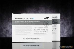 Samsung 850 EVO M.2 Package Back