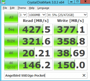 USB 3.0 Angelbird SSD2go