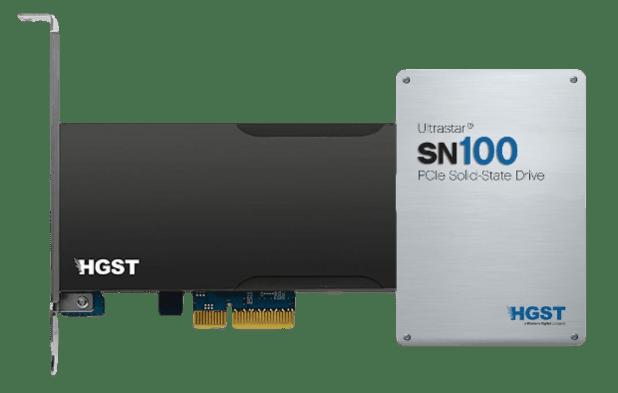 HGST SN100 PCIe SSD 620