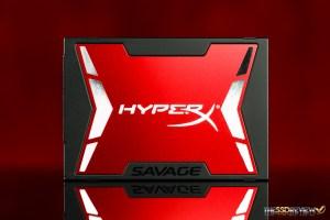 Kingston HyperX Savage 240GB Front