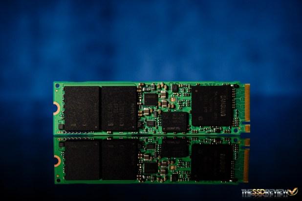 Samsung SM951 M.2 PCIe NVMe 256GB PCB Front