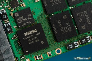 Samsung SM863 960GB Controller, NAND, DRAM