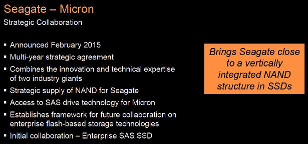 Seagate 1200dot2 SAS SSD collaboration