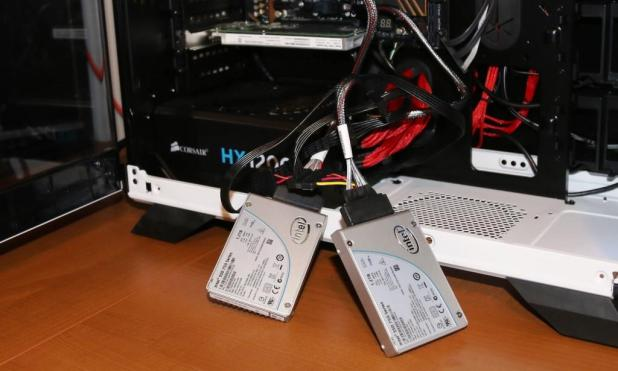 Intel 750 NVMe SSD RAID 0 X3 Test