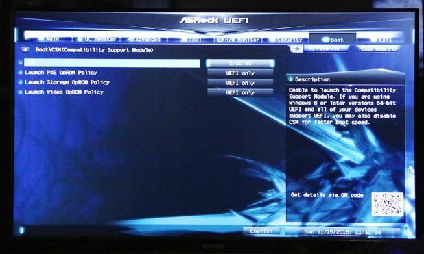 ASRock Z170 Extreme7 UEFI M2 Boot Slide 2
