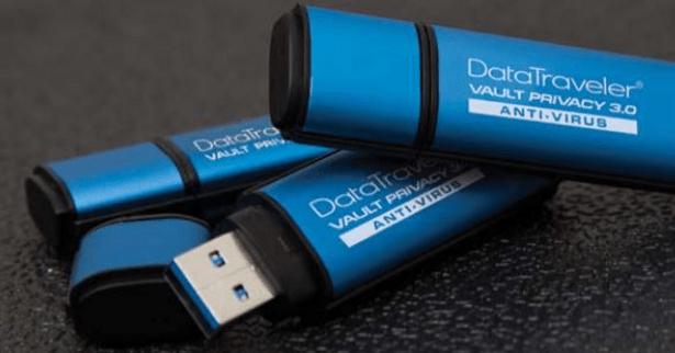 Kingston DataTraveler encrypted USB 2