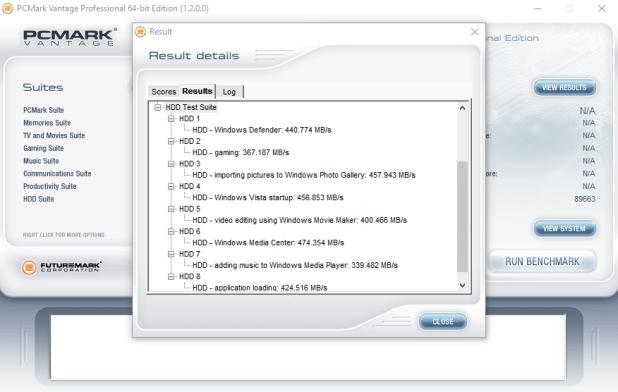 OCZ Trion 150 480GB PCMARK VANTAGE RESULT
