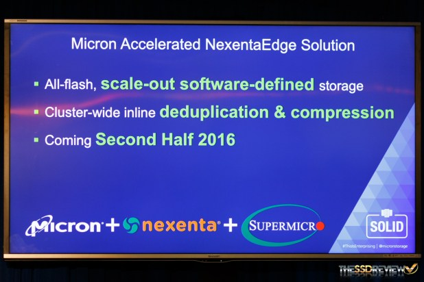 Micron All Flash NexentaEdge Servers