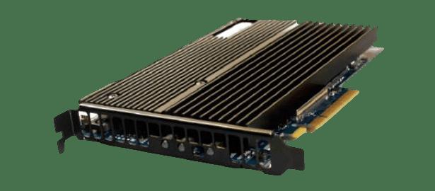 Zstor NV series Mangstor NVMe SSD front