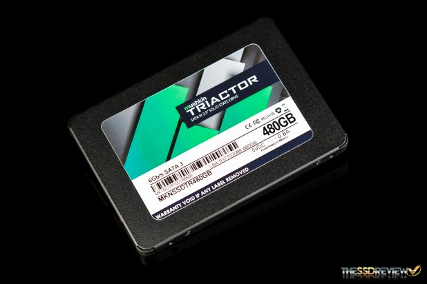 Mushkin Triactor SSD Angle