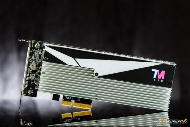 Techman SSD XC100 3.2TB Front