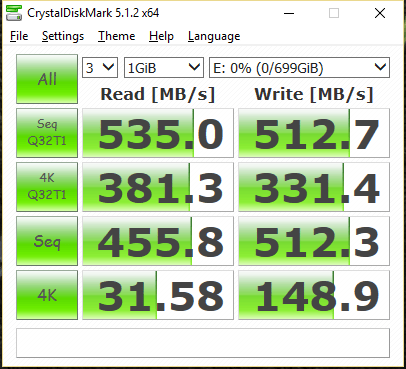 Crucial MX300 750GB Limted Edition CDM
