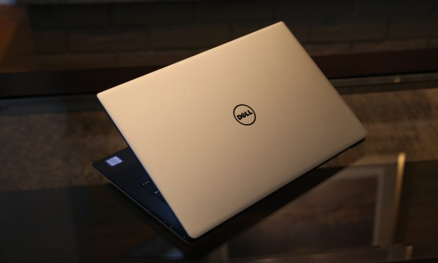 Dell XPS 13 9350 Gold Edition on Table