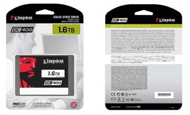 Kingston DC400 SSD packaging
