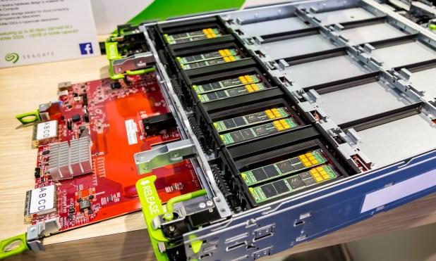 Seagate XM1441 M2 SSD in Facebook Lightning