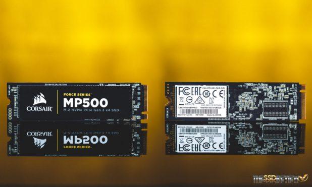 Corsair MP500 480GB SSD EXTERIOR