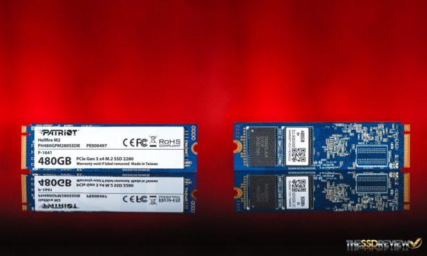 Patriot Hellfire 480GB SSD Exteriror
