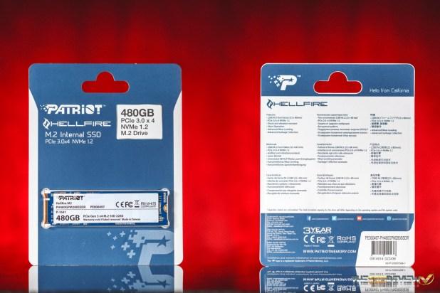 Patriot Hellfire 480GB SSD Package