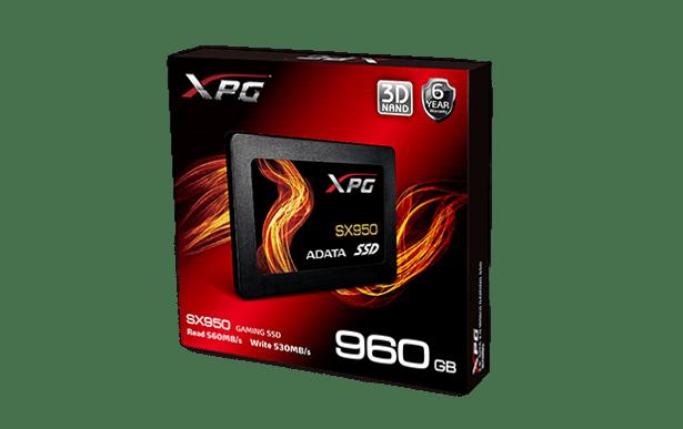 ADATA SX950 retail package