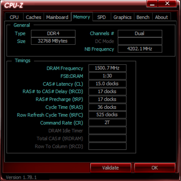 CPUz 5GHZ Memory Kingston HyperX predator 3000MHz