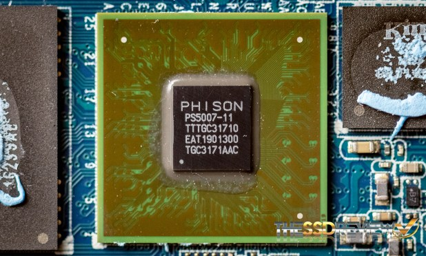 Phison PS5007-11 NVMe Controller on DCP1000