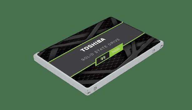 Toshiba TR200 angled view