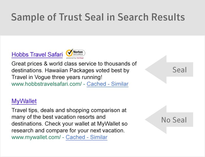 TrustSeal In Search