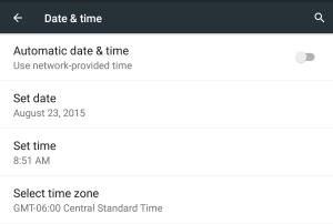 how to Set Date & Time in Android