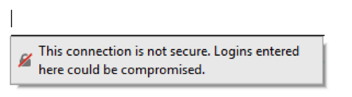 Disable Firefox Insecure Password Warnings