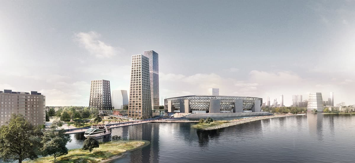 masterplan submitted for feyenoord city