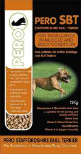 Dog Food for Staffordshire Bull Terriers