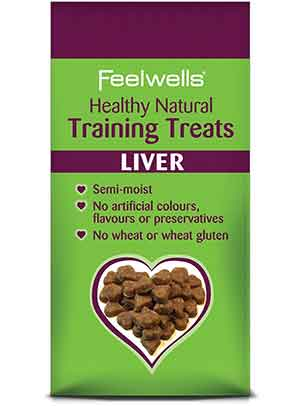 Feelwells Moist Liver Training Treats
