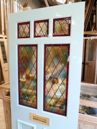 Stained Door & Tuscan Doors - Custom Radius 1-Panel Design ...