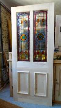 Home Entrance Door: Glass Panel Doors