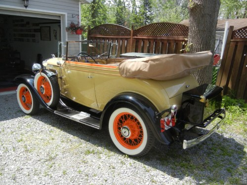 small resolution of 1930 chevy sedan spare tire mount