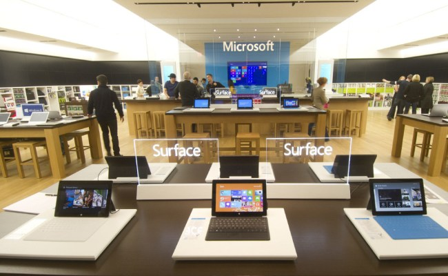 Microsoft S First Canadian Retail Store To Open At