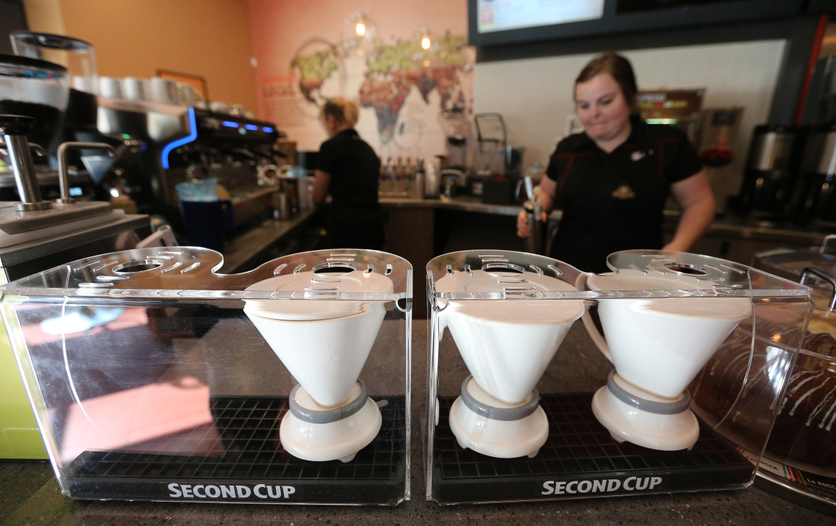 Second Cup launches new look  Toronto Star