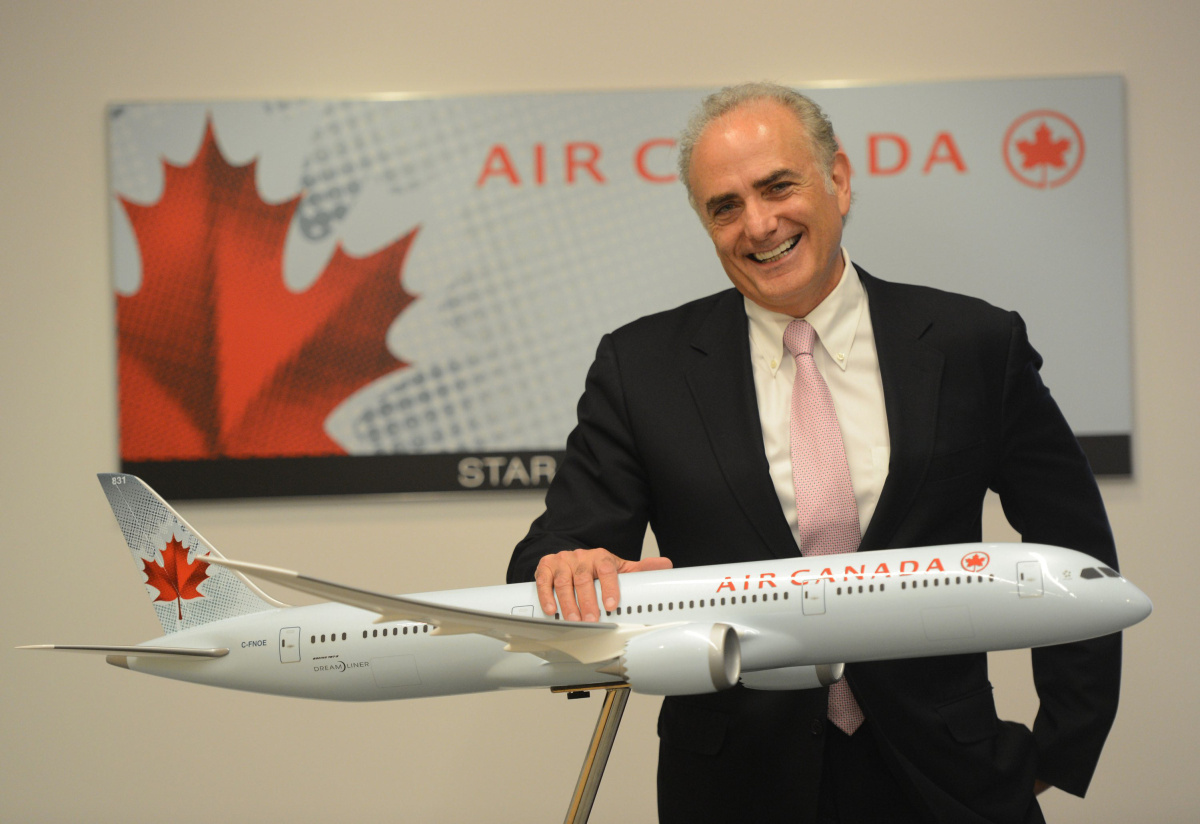 Air Canada CEO Calin Rovinescu Looking For Wins Toronto Star