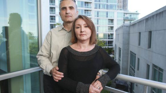 Peter and Elizabeth Bogucki backed out of a purchase with builder Urbancorp in March but have yet to get their $95,000 deposit back. This puts them on the spot because they've already sold their condo and were counting on the deposit to find another home.