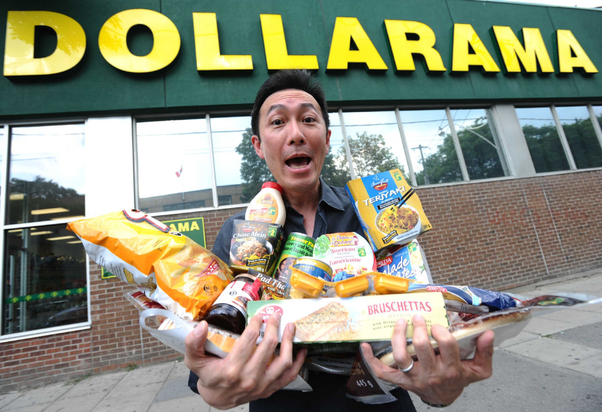 A week of groceries from the Dollar Store? | The Star
