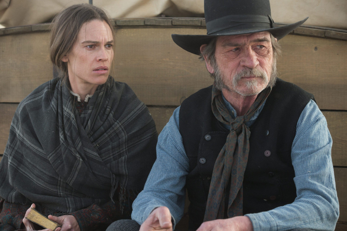 The Homesman Depicts Hilary Swank As Tougher Than Any