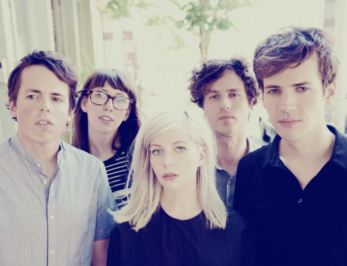 East Coast Musicians Alvvays Performing To Back Highly