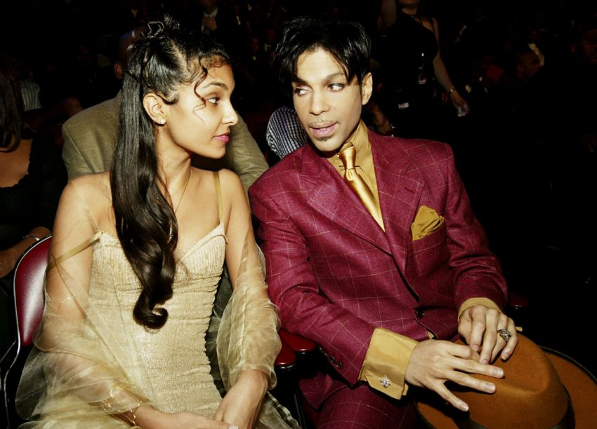 Prince and his then-wife, Manuela Testolini of Toronto, shown at the 35th Annual NAACP Image Awards in 2004.