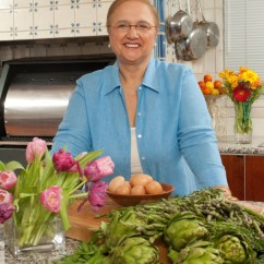 Blue Kitchen Island Ceramic Countertops Von Hahn: Lidia Bastianich Is Fearless In Life And ...